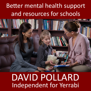 Better mental health support and resources for schools